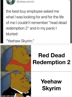 One Yeehaw Skyrim please: One Yeehaw Skyrim please