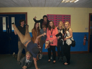 onedirectaddiction:  I think its every girl's dream to get a picture like THIS with the boys, So I thought I'd share. Don't you love how Zayn is on Liam's back and Louis is doing a hand stand, Niall's on the ground and Harry is of course lifting Louis legs lol It just looks like an awkward Christmas card picture :P To see more rares like this of the boys please follow my blog, hope you enjoy! : onedirectaddiction:  I think its every girl's dream to get a picture like THIS with the boys, So I thought I'd share. Don't you love how Zayn is on Liam's back and Louis is doing a hand stand, Niall's on the ground and Harry is of course lifting Louis legs lol It just looks like an awkward Christmas card picture :P To see more rares like this of the boys please follow my blog, hope you enjoy!