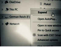 "Dank, Meme, and Access: OneDrive  Plakat  This PC  Expand  Open AutoPlay..  Open in new window  Pin to Quick access  German Reich (F:)  Network  O Scan with ESET Sman  Advanced options <p>We&rsquo;ll start with the Sudetenland via /r/dank_meme <a href=""https://ift.tt/2KN8CXx"">https://ift.tt/2KN8CXx</a></p>"