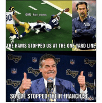 Jeff fisher stays salty😂😂 Superbowlxxxiv: ONFL Hate memes  THE RAMS STOPPED US AT THE ONEYARD LINE  am  NFL  NFL  SONINVESTOPPEDTHEIR FRANCHESEoG Jeff fisher stays salty😂😂 Superbowlxxxiv
