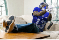 Football, Nfl, and Sports: ONFL MEMES REPORT: Odell Beckham has already dropped the remote 3 times while watching the Cowboys-Packers game from his couch
