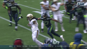 That's just unfair.  There's no stopping @A_Kamara6 #NOvsSEA  ?: CBS ?: NFL app // Yahoo Sports app Watch free on mobile: https://t.co/qnNxI5gZ8j https://t.co/xwXoOoKKRG: ONFL  NFL RUSH, 125 YDS  A.COOPER: 6 REC, 88 YDS  T. POLLARD: 13 RUSH, 103 YDS, TD That's just unfair.  There's no stopping @A_Kamara6 #NOvsSEA  ?: CBS ?: NFL app // Yahoo Sports app Watch free on mobile: https://t.co/qnNxI5gZ8j https://t.co/xwXoOoKKRG