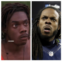 """Nfl, Richard Sherman, and Cool: ONFLMEMEZ  NFL That moment when you realize Richard Sherman played in the movie """"Cool Runnings"""" before the NFL... Credit: Kai Vukomanovich"""
