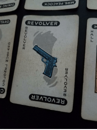 "Tumblr, Blog, and Game: ONINIa  TARD REVOLVER  REVOLVER  IH <p><a href=""http://memehumor.tumblr.com/post/153956791493/found-in-an-old-game-of-clue"" class=""tumblr_blog"">memehumor</a>:</p>  <blockquote><p>Found in an old game of Clue</p></blockquote>"