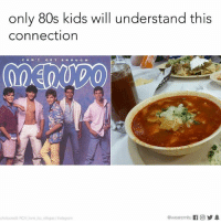 80s, Instagram, and Memes: only 80s kids will understand this  connection  CAN  G E T  V10  photocredit RCA tone loc villegas/Instagram And both look yummy tbh. 💦