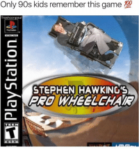 Dank, Dating, and Stephen: Only 90s kids remember this game  Trash can  paul  un STEPHEN HAWKING'S  TEEN Still one of the best games to date  Credit: Trashcanpaul