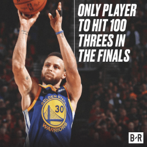 Greatest shooter ever 💯: ONLY PLAYER  TO HIT 100  THREES IN  THE FINALS  DEN S  30  B R Greatest shooter ever 💯