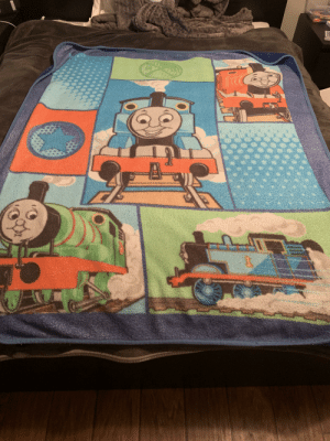 Dank, Thomas, and Engine: Only Real Teenagers Have A Thomas the Dank Engine Blanket