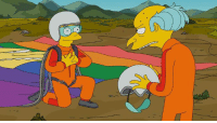Dank, Mr. Burns, and Jumped: Only Smithers would jump out of a plane with Mr. Burns.