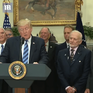 Journey, Mood, and Pussy: onlyblackgirl:  basura-official:   teknon:  whoreablejewess:  gluten-free-pussy:   ithelpstodream: buzz aldrin looks like he's about to tie trump to a rocket and launch him off into space  Do it, buzz   Now that's a facial journey  Some of my favorites:   Its like hes going through the 5 stages of grief but he keeps flip flopping between bargaining and anger   2017 mood.