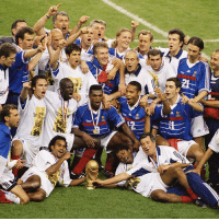OnThisDay in 1998, @equipedefrance won their first ever FIFA WorldCup, beating @cbf_futebol 3-0 in the final with two goals from @Zidane and one from Emmanuel Petit. France LesBleus Zidane Zizou: OnThisDay in 1998, @equipedefrance won their first ever FIFA WorldCup, beating @cbf_futebol 3-0 in the final with two goals from @Zidane and one from Emmanuel Petit. France LesBleus Zidane Zizou
