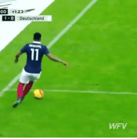 Crazy, Memes, and Martial: OO  +1:23  1-0 Deutschland  WFV Throwback to Martial crazy assist 😍👏🏻 @worldfootballvids