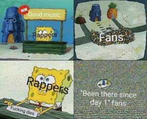 me irl: ood music  appers  Beer there since  an  Fucking dies me irl