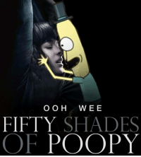 poopy: OOH WEE  FIFTY SHADES  OF POOPY