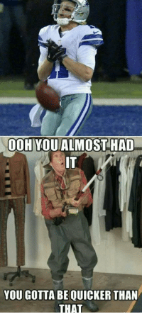 Any hope of coming back ended on that play: OOH YOU ALMOST HAD  YOU GOTTA BE QUICKER THAN  THAT Any hope of coming back ended on that play