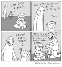 "<p>What do we do to nerds? via /r/wholesomememes <a href=""http://ift.tt/2r0Xlvq"">http://ift.tt/2r0Xlvq</a></p>: ooK DAD  A NERD