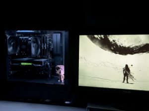 Destiny, Game, and Time: OOLE  STER  MUTT  GEFORCE RTX  CORSAIR Installed my 2060 Super last night. First time I've ever been able to play a big game (Destiny 2) at max settings with 60 FPS. Glorious.