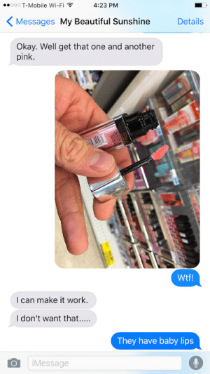 Things to send your boyfriend at work
