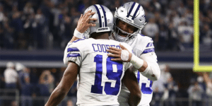 Cowboys offer to make Dak Prescott, Ezekiel Elliott, and Amari Cooper each top-five paid at their positions: https://t.co/z3AfBCpMK1 (via @SlaterNFL) https://t.co/8AEhUOuxo1: oownrs  COWBOTS  COD  15 Cowboys offer to make Dak Prescott, Ezekiel Elliott, and Amari Cooper each top-five paid at their positions: https://t.co/z3AfBCpMK1 (via @SlaterNFL) https://t.co/8AEhUOuxo1