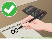 Love My Gf: op  op  op  oP  how much I love my gf  ki How to calculate how much you love your gf
