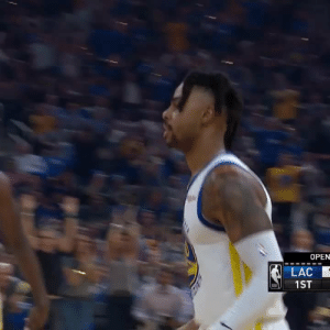 D'Angelo Russell scored the first 10 PTS for the Warriors to start the game!  He finished with 20 PTS & 8 AST in 33 MINS.    https://t.co/6HYJ1qz8xC: OPEN  LAC  1ST D'Angelo Russell scored the first 10 PTS for the Warriors to start the game!  He finished with 20 PTS & 8 AST in 33 MINS.    https://t.co/6HYJ1qz8xC