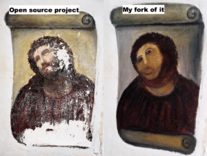Please accept my contribution: Open source project  My fork of it Please accept my contribution