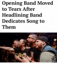 """""""He said we ripped! Scotty Skull from Punching Up thinks we rip! This is unreal! This changes everything!"""": opening Band Moved  to Tears After  Headlining Band  Dedicates Song to  Them.  NE  Full Story thehardtimes net """"He said we ripped! Scotty Skull from Punching Up thinks we rip! This is unreal! This changes everything!"""""""