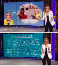 chillspins:  so samantha bee wants to seduce gritty…: OPERATION GRITTY LOVE  LURE TO  FAKE A CALu  FROM HIS  LIBER.TY  RELL FOR  PRIDE EVENT  BFF c LAUDE  TRAP IN BoX  (it's net red's  HE'S NOT  HE SEES  AM BEAUTIFUL  WE ARE IN  LOVE,  JUNE WEDDING chillspins:  so samantha bee wants to seduce gritty…