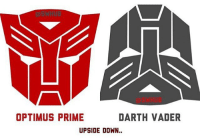 Who else has NEVER noticed this? - Tag a friend to blow their mind💥 Admin: Finn, SWHub: OPTIMUS PRIME  DARTH VADER  UPSIDE DOWN Who else has NEVER noticed this? - Tag a friend to blow their mind💥 Admin: Finn, SWHub