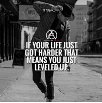 Life, Memes, and Ambition: OPUS  CIRCLE  AMBITION  IF YOUR LIFE JUST  GOT HARDER THAT  MEANS YOU JUST  LEVELEDU Level up every day!👊🏻 - DOUBLE TAP IF YOU AGREE!
