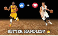 Chef Curry, Memes, and Chef: OR  AVS  BETTER HANDLES? Uncle Drew or Chef Curry ?  -CJ