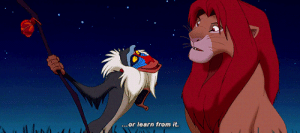 Roger, Target, and Tumblr: ...or learn from it. neddstark: The Lion King (1994), dir. Roger Allers  Rob Minkoff