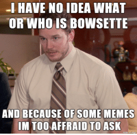 Memes, Imgur, and Ask: OR WHO IS BOWSETTE  AND BECAUSE OF SOME MEMES  IM TOOAFFRAID TO ASK  made on imgur Outsider