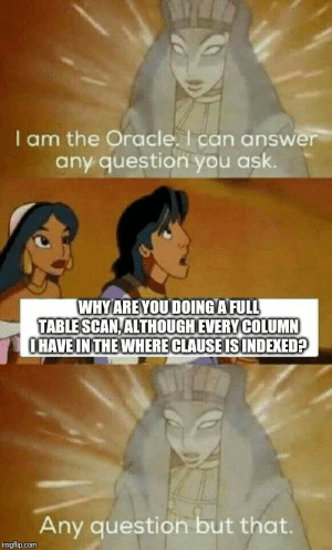 Oracle cannot answer every Question after all: Oracle cannot answer every Question after all