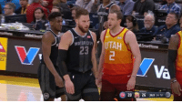 Blake Griffin, Griffin, and Joe: ORCITY  23  Va Joe Ingles told Blake Griffin he was a flopper to his face 😂