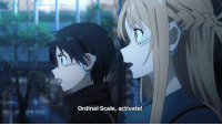 Memes, 🤖, and Swords: ordinal Scale, activate! Sword Art Online The Movie -Ordinal Scale- has a new trailer released! Personally, it doesn't look too bad and I'm quite excited. HP: http://sao-movie.net/us/theater/ Aniplex: https://youtu.be/32FLqOWjUfI  ~ Noobles --- Anime Trending Awards 2017 Polls: http://www.anitrendz.net/ata-2017 Winter 2017 Anime Voting Link: https://goo.gl/aJmpdx