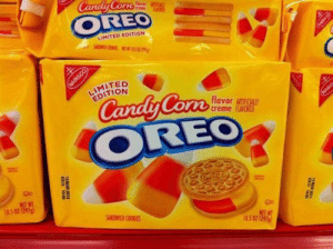 Candy, Run, and Tumblr: OREC  LIMITED EDITION  LIMITED  EDITION  Candy Conn lero  flavor CALL  creme fAS0  run  ORE  NET WT  105 07 (297)  NET W  05 02 1297 lagonegirl:   Who….asked….for….this.