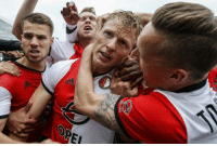 Club, Soccer, and Amazing: OREI Amazing: 36-year-old Dirk Kuyt wins boyhood club Feyenoord their first title since 1999 with a hat trick.