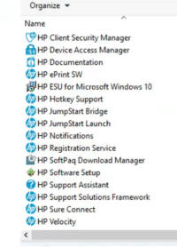 "Hp update"" installed and now can't uninstall it. Windows 10."