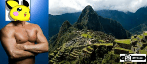 giegues:  figglypuff:  Who would win in a fight? Macho Pichu or Machu Picchu  Unstoppable force vs. Immovable object : ORIGINAL giegues:  figglypuff:  Who would win in a fight? Macho Pichu or Machu Picchu  Unstoppable force vs. Immovable object