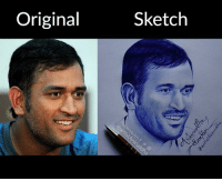 Ballpoint Pen Portrait of MS Dhoni #Original_Vs_My_Sketch Watch the video here - https://youtu.be/_Zy7qYWLwMY Sketch By Me~ Aniruddha Sarkar Like👉 Aniruddha Sarkar 👌 for more awesome drawings: fb.com/artistAniruddha ~ www.aniruddhasarkar.com ~: Original  Sketch Ballpoint Pen Portrait of MS Dhoni #Original_Vs_My_Sketch Watch the video here - https://youtu.be/_Zy7qYWLwMY Sketch By Me~ Aniruddha Sarkar Like👉 Aniruddha Sarkar 👌 for more awesome drawings: fb.com/artistAniruddha ~ www.aniruddhasarkar.com ~