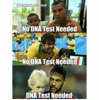 Football, Memes, and Troll: Original Troll Football  No DNA Test Needed  Na DNA Test NeedenI  DNA Test Needed Hahaha! 😂😂😂