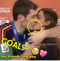 Bae, Memes, and 🤖: ORLO CUP  FRICA  VISA  my friends and you  FOLLOW @INSTA FUT Goals? 😍😭 tag your special someone 😏 bae 👥Follow @instatroll_futbol