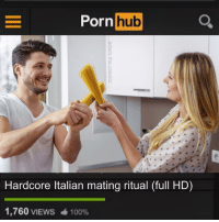 Mama Mia that's a spicy movie 🔥👌: orn hb  Hardcore ltalian mating ritual (full HD)  1,760 VIEWS  100% Mama Mia that's a spicy movie 🔥👌