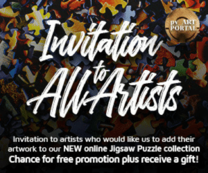 Tumblr, Blog, and Free: ORTAL  Invitation to artists who would like us to add their  artwork to our NEW online Jigsaw Puzzle collection  Chance for free promotion plus receive a gift! awesomage:Calling ALL artists! Would you like to have your artwork featured on our site? Here's your chance!PV is currently accepting submissions to be included in our online Jigsaw Puzzles section! Learn more:http://artportal.phoenixvoyage.org/