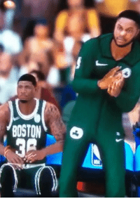 Nba, Blackpeoplegifs, and Nba 2k: OS 3 NBA 2k celebrations getting out of hand