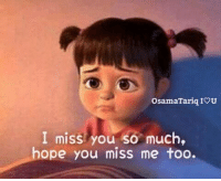 Memes, 🤖, and You: OsamaTariq IOU  I miss you so much,  ope you miSs me foo.