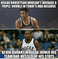 Oscar Robertson couldn't even do what Russell Westbrook has been doing this season!!! NBA NBAMemes OKCThunder OKC Thunder ThunderUP RussellWestbrook: OSCAR ROBERTSON WOULDN'T AVERAGE A  @PERSOURCES  UCK  KEVIN D  JOINED HIS  TEAM AND  MESSED UP HIS STATS Oscar Robertson couldn't even do what Russell Westbrook has been doing this season!!! NBA NBAMemes OKCThunder OKC Thunder ThunderUP RussellWestbrook