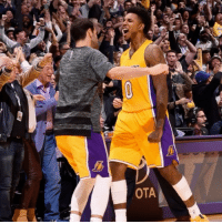 | Nick Young stole the pass from his teammate then hit the Game-Winner😳: OTA | Nick Young stole the pass from his teammate then hit the Game-Winner😳