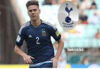 Tottenham manager Mauricio Pochettino is interested in £10m Estudiantes defender Juan Foyth, according to the Daily Mirror. - The 19-year-old centre-back represented Argentina at the U20 World Cup earlier this year.: OTENHAN  HOTSPUR  TRANSFER.TALK Tottenham manager Mauricio Pochettino is interested in £10m Estudiantes defender Juan Foyth, according to the Daily Mirror. - The 19-year-old centre-back represented Argentina at the U20 World Cup earlier this year.